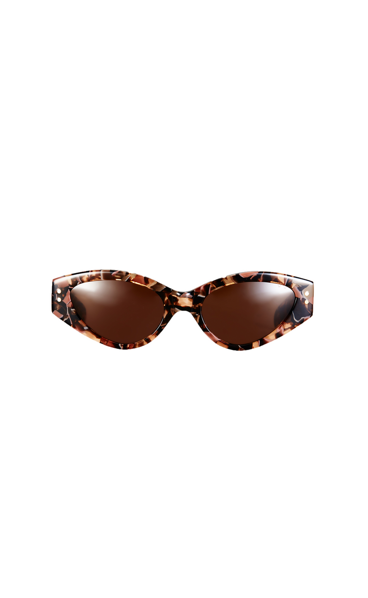 BB PARED II - RAVE CAVE - PINK TORTOISE SOLID BROWN