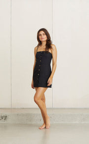 KELLY MINI DRESS - BLACK