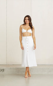 KELLY SKIRT - WHITE