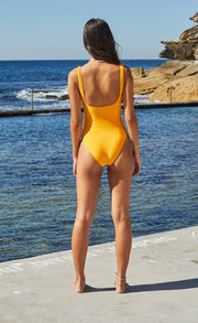 SUNSET ONE PIECE - TANGERINE