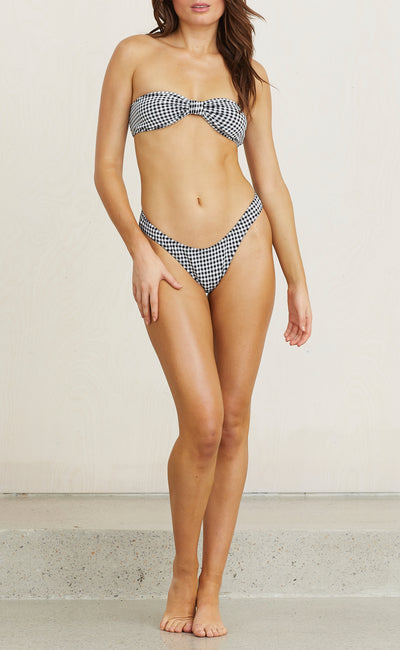BLACK BETTY BOTTOM - GINGHAM CHECK