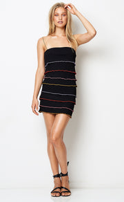 LA BAMBA MINI DRESS - BLACK