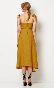 SUN VALLEY MIDI DRESS - SPOT PRINT