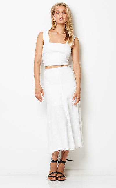 CATALINA AVE SKIRT  - IVORY