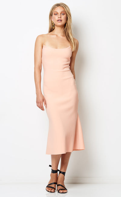 TE AMO SCOOP MIDI DRESS - COSMETIC