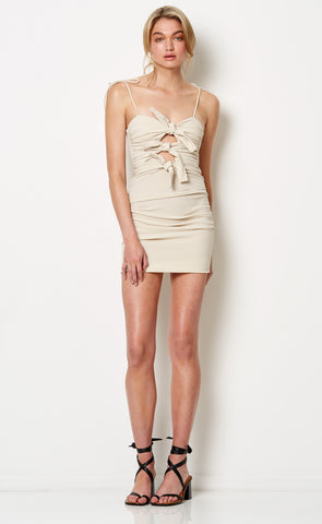PALOMA MINI DRESS - NATURAL