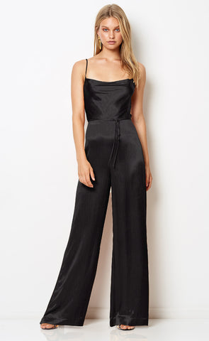 FEEL THE HEAT JUMPSUIT - BLACK