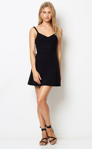 LILA MINI DRESS - BLACK