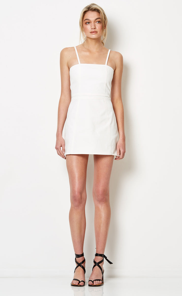 BUENO MINI DRESS - IVORY