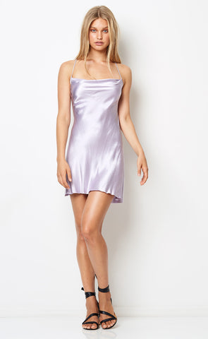 DISCO DANCER MINI DRESS - LILAC