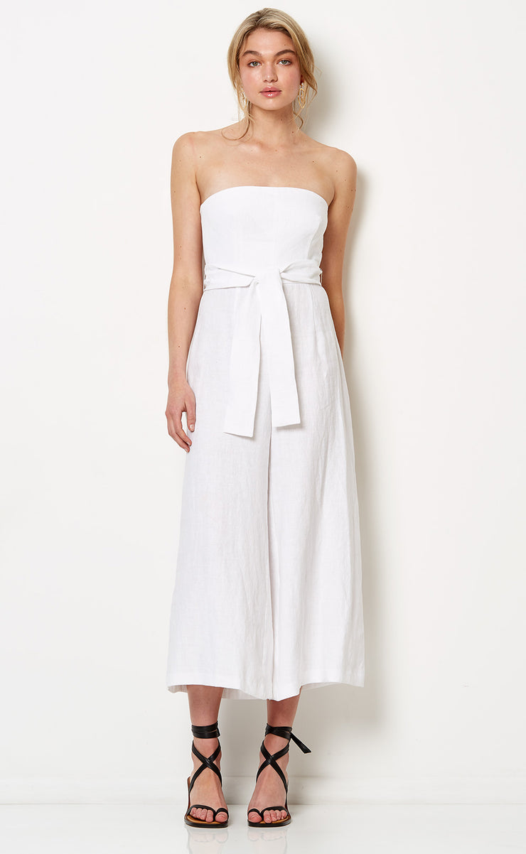 HAVANA NIGHTS JUMPSUIT - WHITE