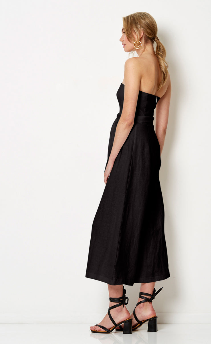 HAVANA NIGHTS JUMPSUIT - BLACK