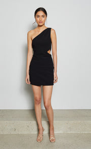 ELKE MINI DRESS - BLACK