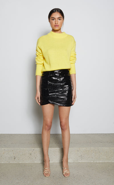 FINN MINI SKIRT - BLACK