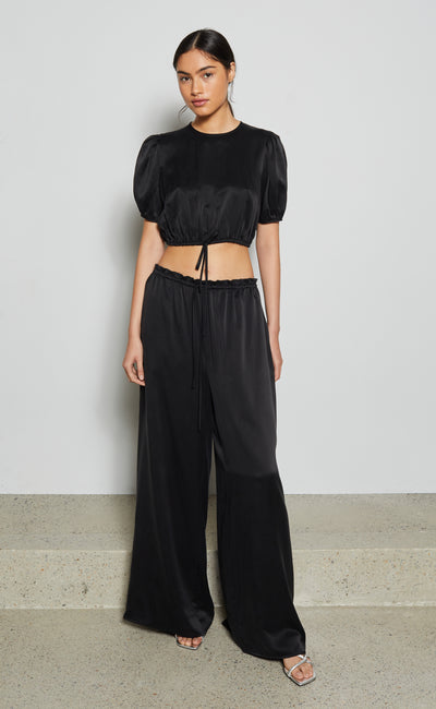 MARGARETA PANT - BLACK