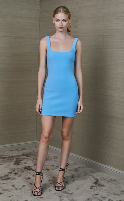 ARLETTE MINI DRESS - MARINE