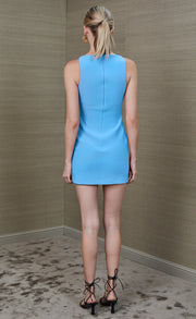 CLOVER MINI DRESS - MARINE