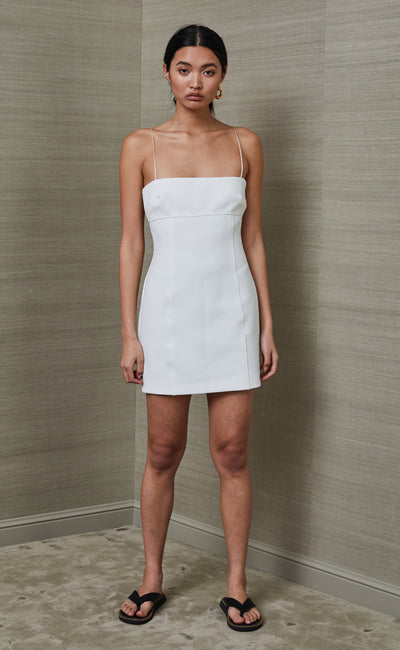 PEARL MINI DRESS - IVORY
