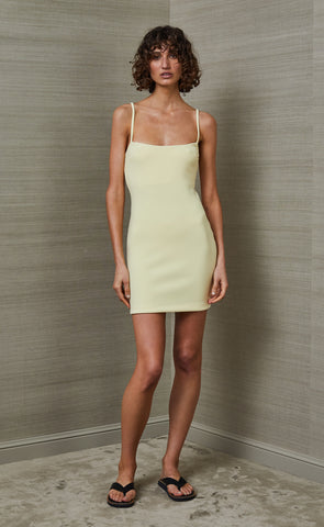SCOUT MINI DRESS - LEMONADE