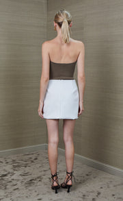 PEARL MINI SKIRT - IVORY