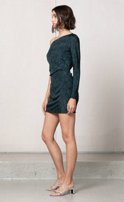 ANIMALE' FEVER MINI DRESS - DARK ANIMAL