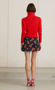 LOVE CRUSH MINI SKIRT - LILY JACQUARD
