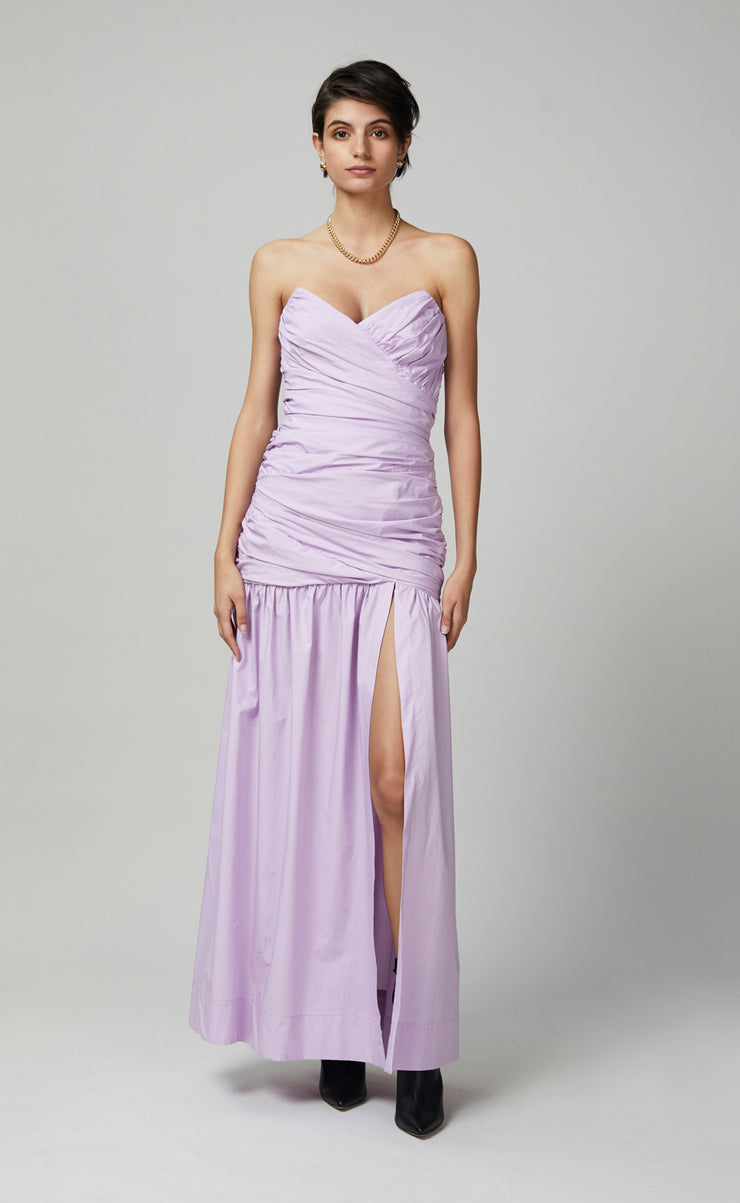 WINSLOWE MIDI DRESS - LILAC