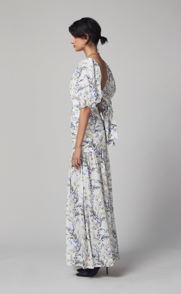 LAVENDER BAY MIDI DRESS - PRINT