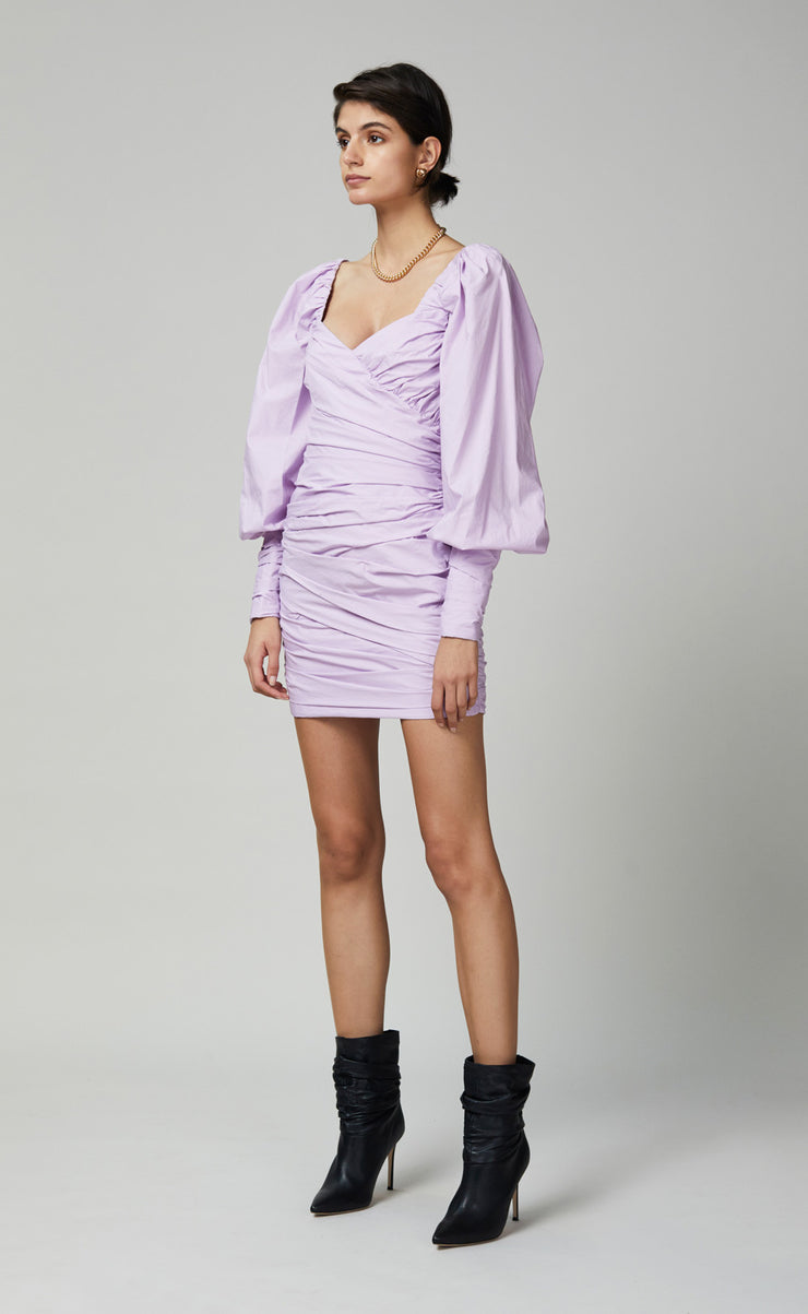 WINSLOWE MINI DRESS - LILAC