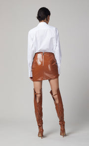 BABETTE MINI SKIRT - TOFFEE