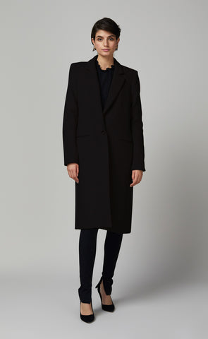 HAILEY COAT - BLACK