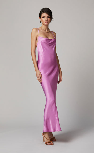 LUCIE MAXI DRESS - FUCHSIA