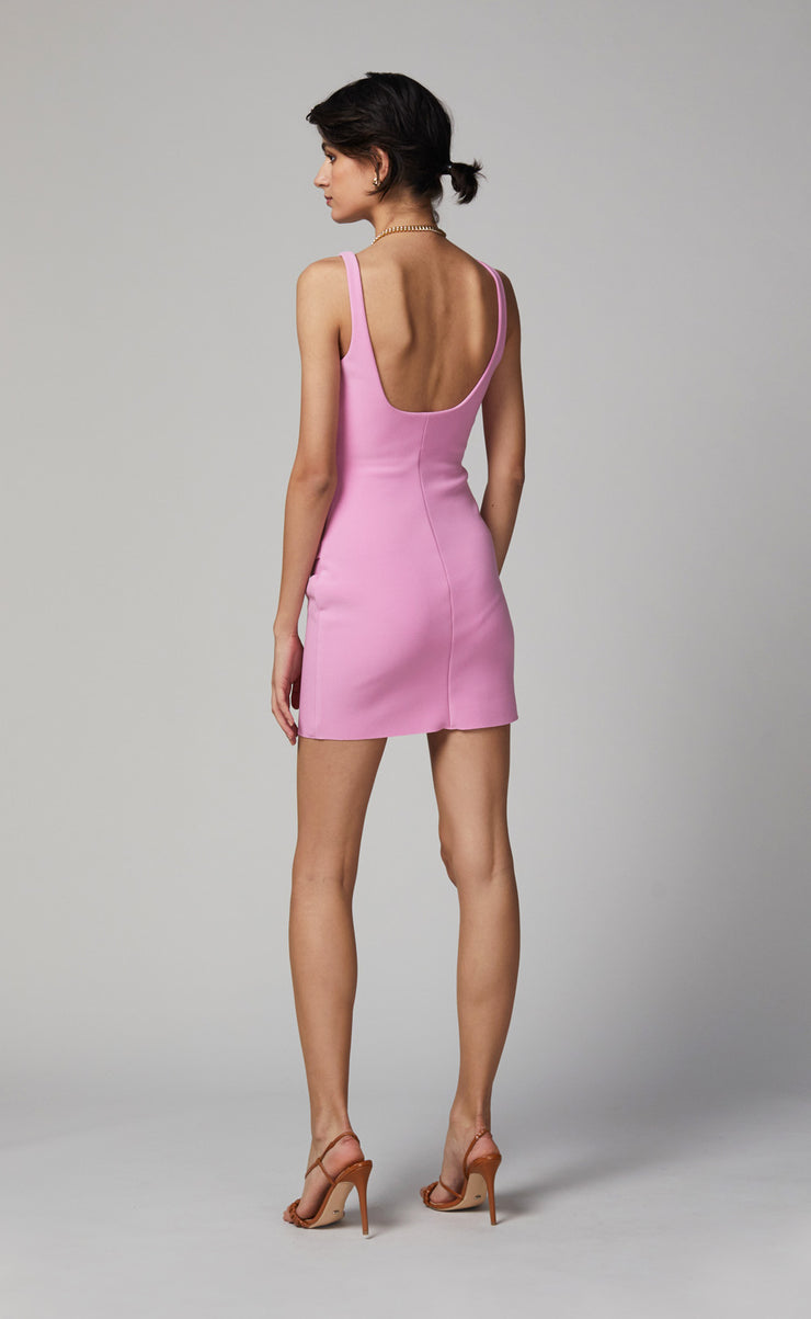 JOELLE MINI DRESS - BUBBLE GUM