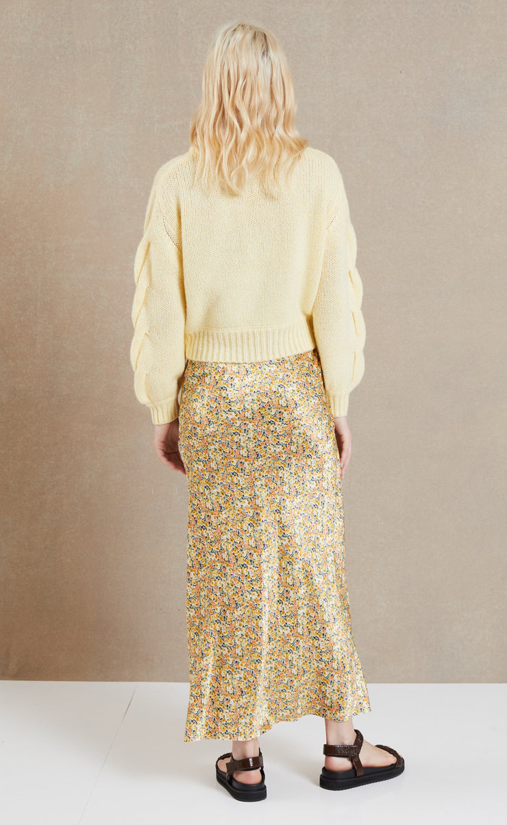 CELESTE KNIT JUMPER - BUTTER