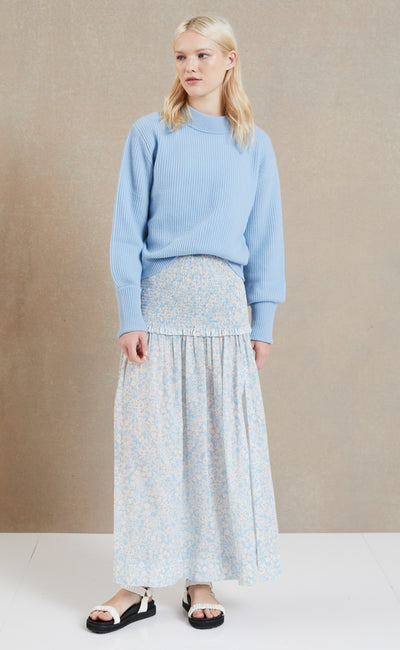 ANDIE KNIT JUMPER - SKY BLUE