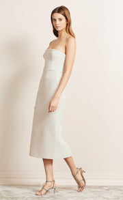 FOREVER YOUNG STRAPLESS DRESS - IVORY