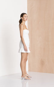 THE DREAMER MINI DRESS - IVORY