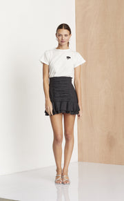 THE DREAMER MINI SKIRT - BLACK