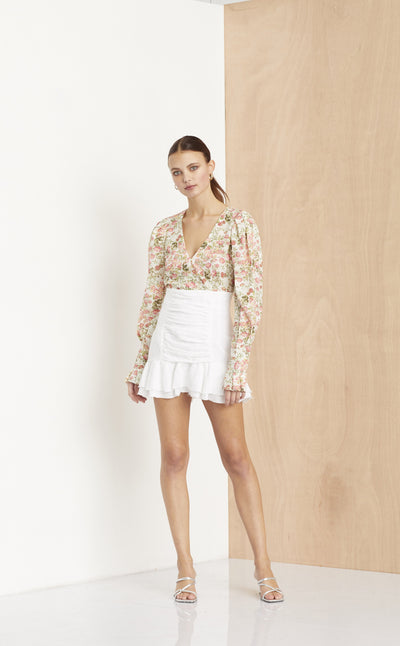 THE DREAMER MINI SKIRT - IVORY
