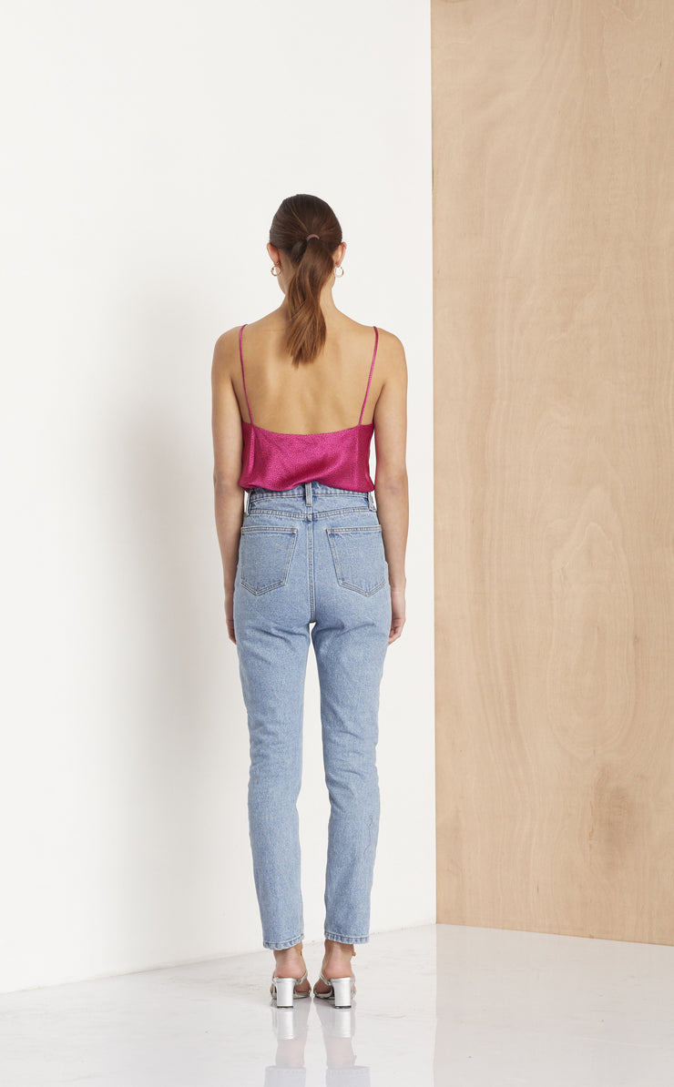 BLUE JEAN BABY PANT - DENIM