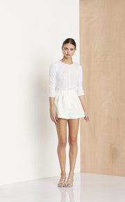 GAINSBOURG L/S TOP - IVORY