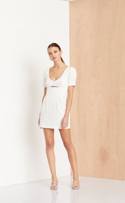 SWEET PEA DRESS - IVORY