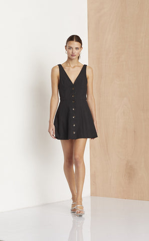 SALUT DRESS  - BLACK