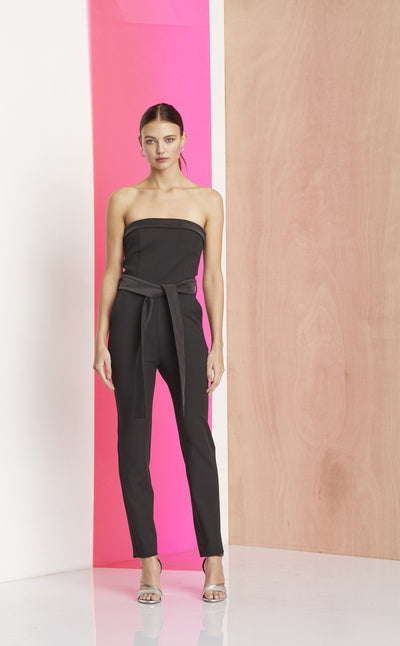 REX CLUB JUMPSUIT - BLACK