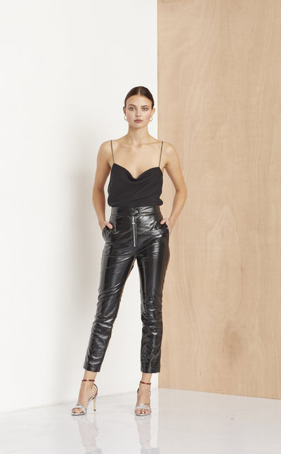 L'AMOUR CLUB PANT - BLACK