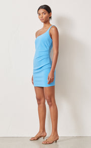 PALOMA MINI DRESS - AZURE