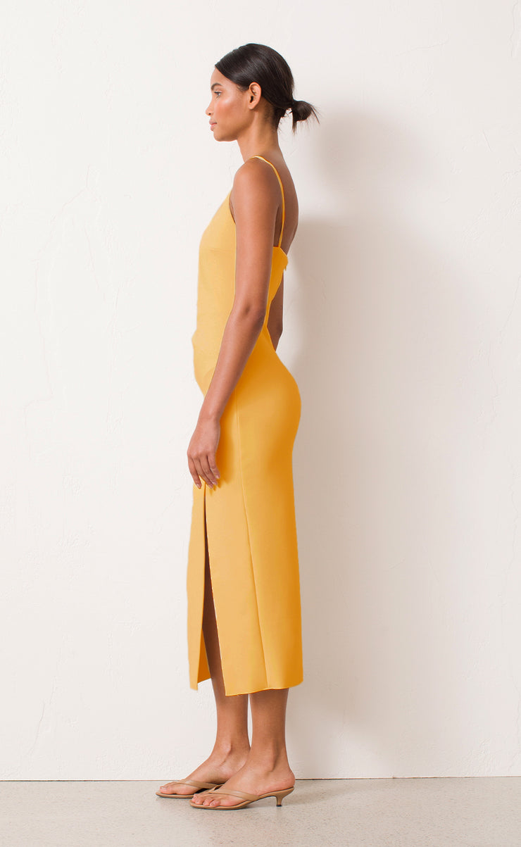 RAPHAELA MIDI DRESS - MELON