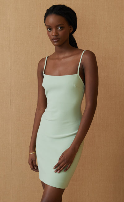 HANA MINI DRESS - AVOCADO
