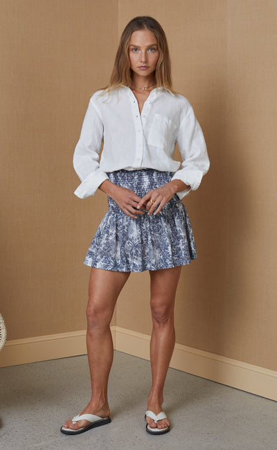 ARIANNE MINI SKIRT - PRINT
