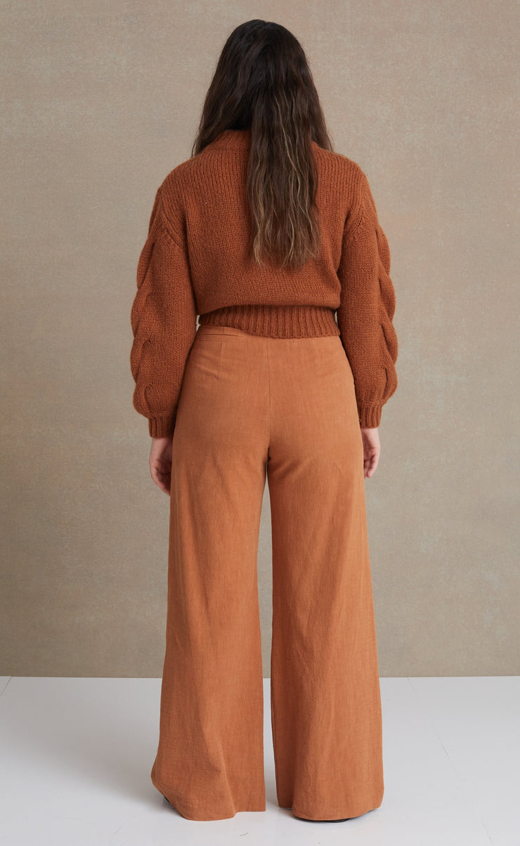 BLAIRE PANT - COPPER